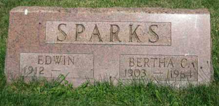 SPARKS, BERTHA C. - Champaign County, Ohio | BERTHA C. SPARKS - Ohio Gravestone Photos