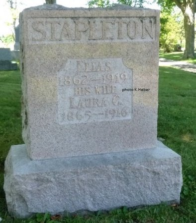 STAPLETON, LAURA CATHERINE - Champaign County, Ohio | LAURA CATHERINE STAPLETON - Ohio Gravestone Photos