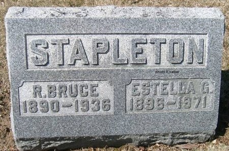 STAPLETON, ROBERT BRUCE - Champaign County, Ohio | ROBERT BRUCE STAPLETON - Ohio Gravestone Photos