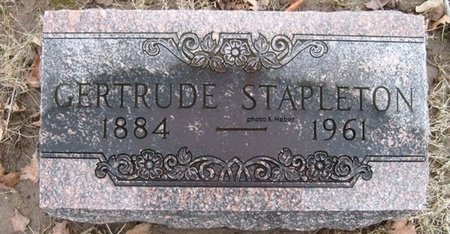 STAPLETON, GERTRUDE FAYE - Champaign County, Ohio | GERTRUDE FAYE STAPLETON - Ohio Gravestone Photos
