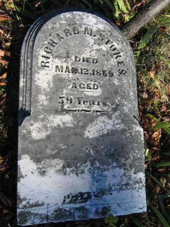 STOKES, RICHARD M. - Champaign County, Ohio | RICHARD M. STOKES - Ohio Gravestone Photos