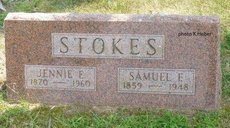 STOKES, JENNIE E - Champaign County, Ohio | JENNIE E STOKES - Ohio Gravestone Photos