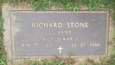 STONE, RICHARD - Champaign County, Ohio   RICHARD STONE - Ohio Gravestone Photos
