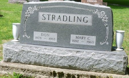 STRADLING, DON - Champaign County, Ohio | DON STRADLING - Ohio Gravestone Photos