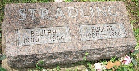 STRADLING, EUGENE - Champaign County, Ohio   EUGENE STRADLING - Ohio Gravestone Photos