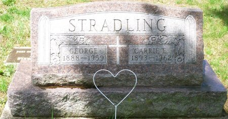 STRADLING, CARRIE EDITH - Champaign County, Ohio | CARRIE EDITH STRADLING - Ohio Gravestone Photos