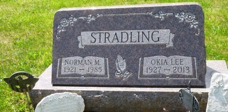STRADLING, NORMAN MITCHELL - Champaign County, Ohio | NORMAN MITCHELL STRADLING - Ohio Gravestone Photos