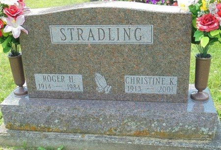 GEARHART STRADLING, CHRISTINE KATHRYN - Champaign County, Ohio | CHRISTINE KATHRYN GEARHART STRADLING - Ohio Gravestone Photos