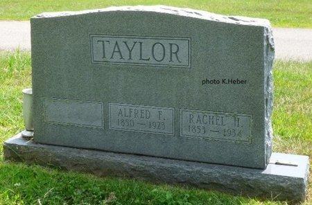 TAYLOR, RACHEL H - Champaign County, Ohio   RACHEL H TAYLOR - Ohio Gravestone Photos