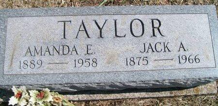 TAYLOR, JACK ANDREW - Champaign County, Ohio | JACK ANDREW TAYLOR - Ohio Gravestone Photos