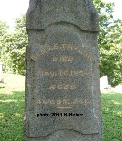 TAYLOR, BENJAMIN - Champaign County, Ohio   BENJAMIN TAYLOR - Ohio Gravestone Photos