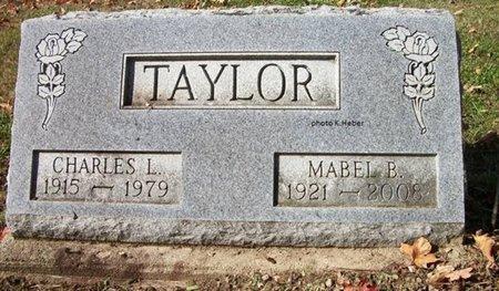 TAYLOR, MABEL B - Champaign County, Ohio | MABEL B TAYLOR - Ohio Gravestone Photos