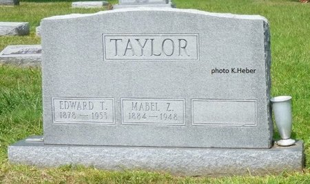 TAYLOR, MABEL Z - Champaign County, Ohio | MABEL Z TAYLOR - Ohio Gravestone Photos