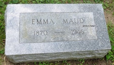 TAYLOR, EMMA MAUD - Champaign County, Ohio   EMMA MAUD TAYLOR - Ohio Gravestone Photos