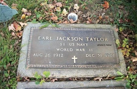 TAYLOR, EARL JACKSON - Champaign County, Ohio | EARL JACKSON TAYLOR - Ohio Gravestone Photos