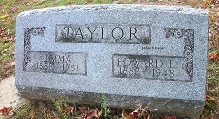 TAYLOR, EMMA - Champaign County, Ohio | EMMA TAYLOR - Ohio Gravestone Photos