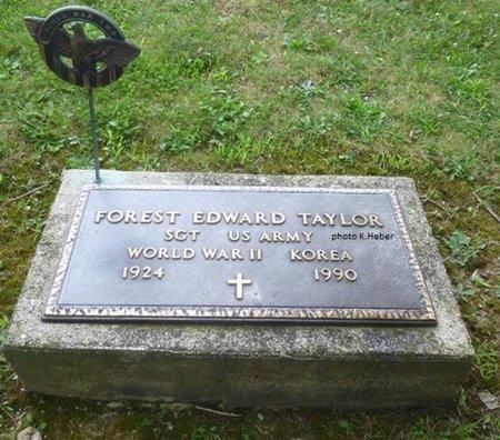 TAYLOR, FOREST EDWARD - Champaign County, Ohio | FOREST EDWARD TAYLOR - Ohio Gravestone Photos