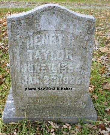 TAYLOR, HENRY HARRY - Champaign County, Ohio   HENRY HARRY TAYLOR - Ohio Gravestone Photos