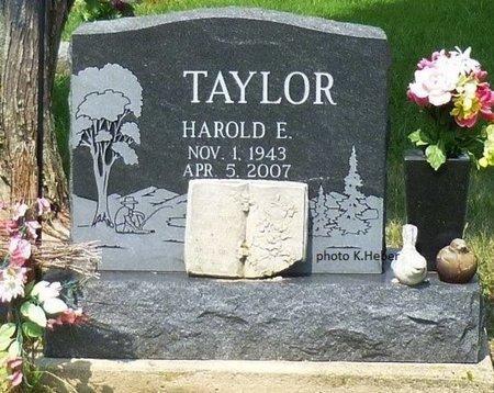 TAYLOR, HAROLD ERWIN - Champaign County, Ohio | HAROLD ERWIN TAYLOR - Ohio Gravestone Photos