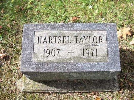 TAYLOR, HARTSEL - Champaign County, Ohio   HARTSEL TAYLOR - Ohio Gravestone Photos
