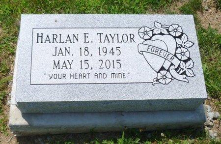 TAYLOR, HARLAN E - Champaign County, Ohio   HARLAN E TAYLOR - Ohio Gravestone Photos