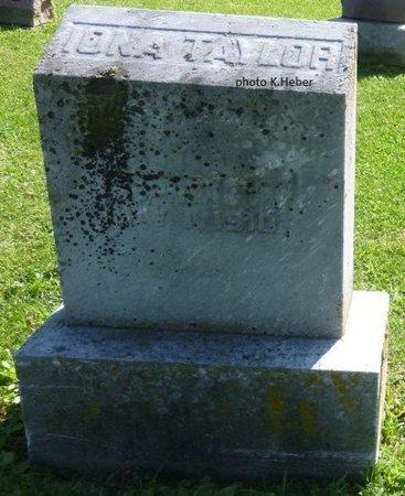 TAYLOR, IONA - Champaign County, Ohio   IONA TAYLOR - Ohio Gravestone Photos