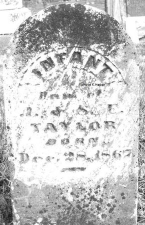 TAYLOR, INFANT DAUGHTER - Champaign County, Ohio   INFANT DAUGHTER TAYLOR - Ohio Gravestone Photos