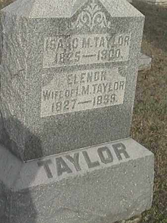 TAYLOR, ISAAC M. - Champaign County, Ohio   ISAAC M. TAYLOR - Ohio Gravestone Photos