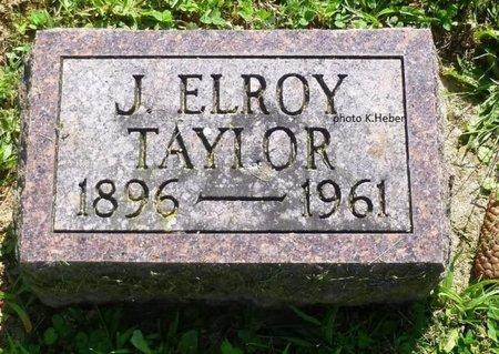 TAYLOR, JOSEPH ELROY - Champaign County, Ohio   JOSEPH ELROY TAYLOR - Ohio Gravestone Photos