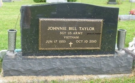 TAYLOR, JOHNNIE BILL - Champaign County, Ohio | JOHNNIE BILL TAYLOR - Ohio Gravestone Photos