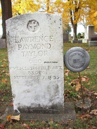 TAYLOR, LAWRENCE RAYMOND - Champaign County, Ohio | LAWRENCE RAYMOND TAYLOR - Ohio Gravestone Photos