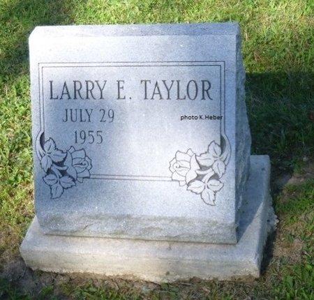 TAYLOR, LARRY E - Champaign County, Ohio | LARRY E TAYLOR - Ohio Gravestone Photos