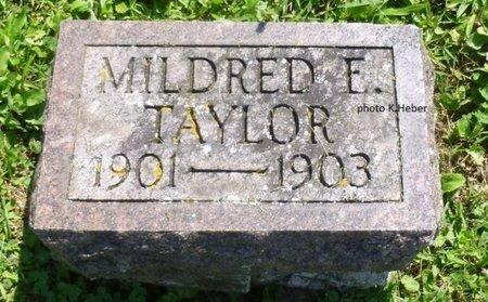 TAYLOR, MILDRED ESTELLA - Champaign County, Ohio | MILDRED ESTELLA TAYLOR - Ohio Gravestone Photos