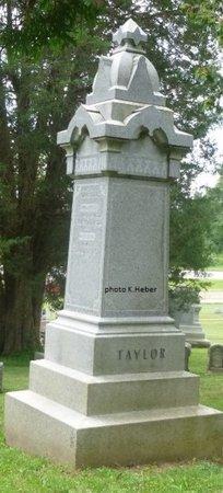 TAYLOR, MONUMENT - Champaign County, Ohio | MONUMENT TAYLOR - Ohio Gravestone Photos