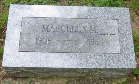 TAYLOR, MARCELLA M - Champaign County, Ohio | MARCELLA M TAYLOR - Ohio Gravestone Photos