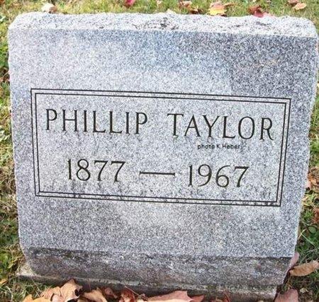 TAYLOR, PHILLIP - Champaign County, Ohio   PHILLIP TAYLOR - Ohio Gravestone Photos