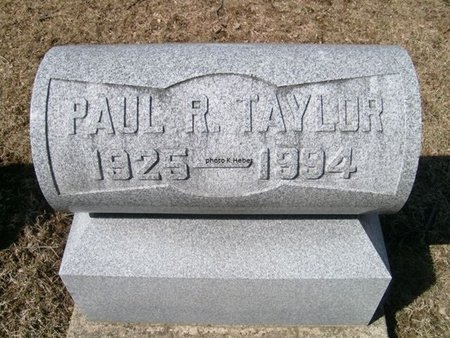 TAYLOR, PAUL RAYMOND - Champaign County, Ohio | PAUL RAYMOND TAYLOR - Ohio Gravestone Photos