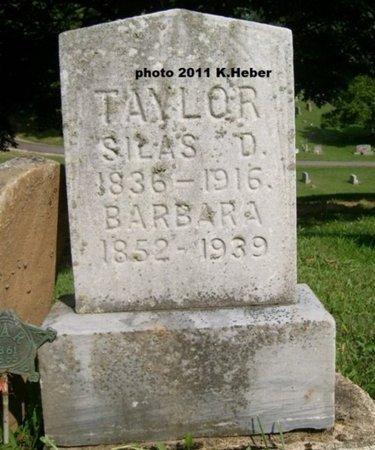 TAYLOR, BARBARA ELIZABETH - Champaign County, Ohio   BARBARA ELIZABETH TAYLOR - Ohio Gravestone Photos