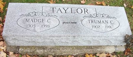 TAYLOR, TRUMAN C - Champaign County, Ohio   TRUMAN C TAYLOR - Ohio Gravestone Photos