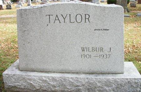 TAYLOR, WILBUR JENKINS - Champaign County, Ohio   WILBUR JENKINS TAYLOR - Ohio Gravestone Photos