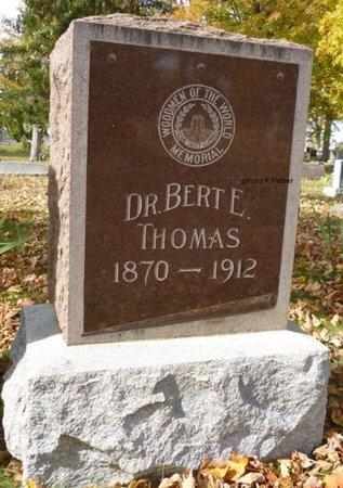 THOMAS, BERT E - Champaign County, Ohio   BERT E THOMAS - Ohio Gravestone Photos