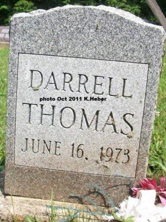 THOMAS, DARRELL - Champaign County, Ohio | DARRELL THOMAS - Ohio Gravestone Photos