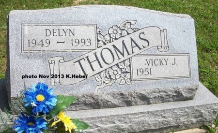 THOMAS, DELYN - Champaign County, Ohio | DELYN THOMAS - Ohio Gravestone Photos