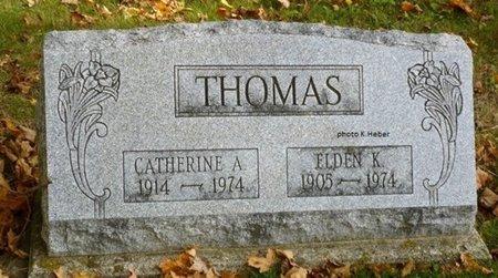 THOMAS, CATHERINE A - Champaign County, Ohio | CATHERINE A THOMAS - Ohio Gravestone Photos