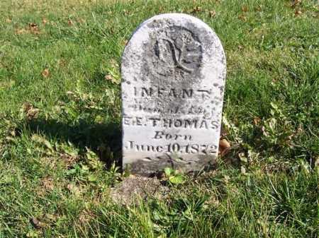 THOMAS, INFANT - Champaign County, Ohio   INFANT THOMAS - Ohio Gravestone Photos