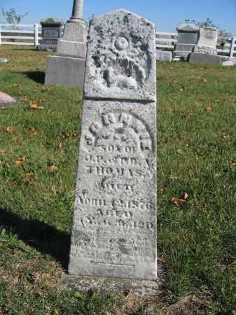 THOMAS, JOHNNIE - Champaign County, Ohio   JOHNNIE THOMAS - Ohio Gravestone Photos