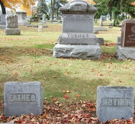 THOMAS, MONUMENT - Champaign County, Ohio | MONUMENT THOMAS - Ohio Gravestone Photos