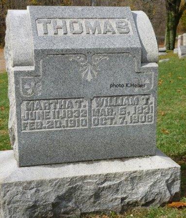 THOMAS, MARTHA A - Champaign County, Ohio | MARTHA A THOMAS - Ohio Gravestone Photos