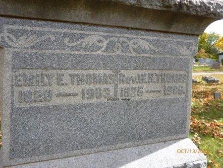 THOMAS, EMILY E - Champaign County, Ohio | EMILY E THOMAS - Ohio Gravestone Photos