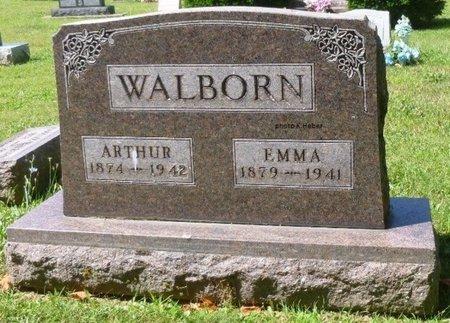 WALBORN, ARTHUR OSCAR - Champaign County, Ohio | ARTHUR OSCAR WALBORN - Ohio Gravestone Photos